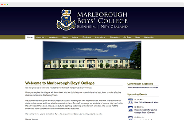 Marlborough Boys' College